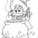 Little Witch and Cauldron